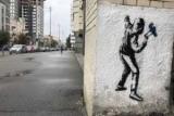 После концерта Massive Attack в Киеве появились граффити Бэнкси