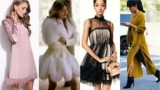 Красиво и удобно: модные платья для зимы 2018