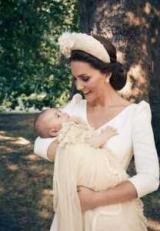 Опубликованы официальные фотографии с крестин принца Луи