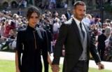 Виктория и Дэвид Бекхэм на королевской свадьбе
