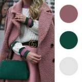 Модные цветовые сочетания в одежде этой зимой