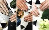 Color маникюра: разноцветный геометрия на твоих ногтях